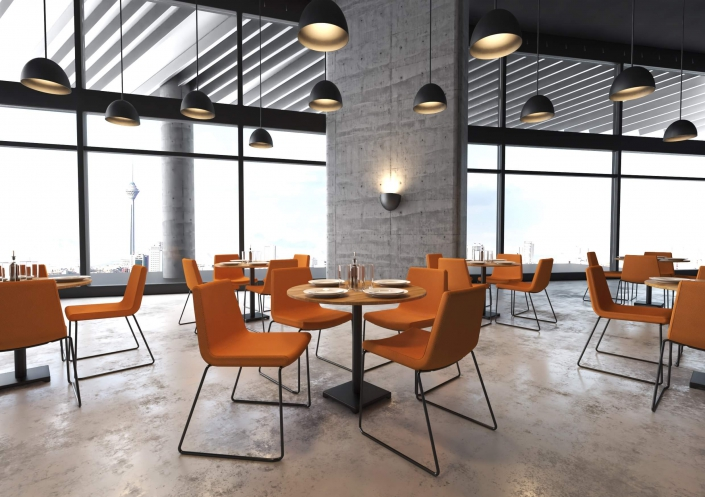 صندلی رستورانی نیلپر